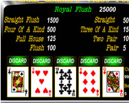 Vizual Asasins video poker poker j�t�kok